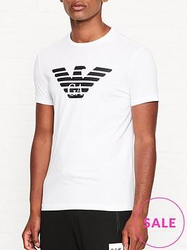 emporio-armani-eagle-logo-print-t-shirt-white