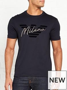 emporio-armani-milano-stud-t-shirt-navy