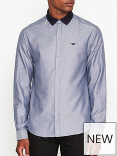emporio-armani-long-sleeve-contrast-polo-collar-shirt-bluenbsp