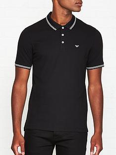 emporio-armani-eagle-logo-tipped-collar-polo-shirt-black