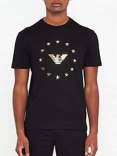 emporio-armani-eagle-logo-t-shirt-black