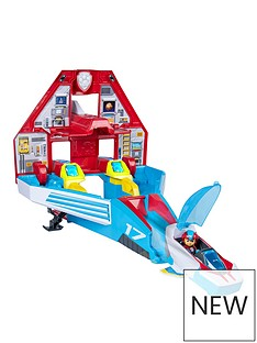 Paw Patrol MIGHTY PUPS SUPERPAWS - Mighty Jet Command Center