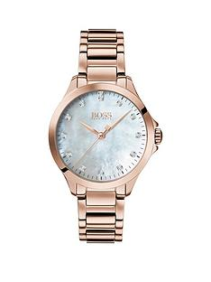boss-white-dial-with-13-diamonds-and-carnation-gold-stainless-steel-bracelet-ladies-watch
