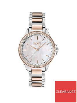 boss-boss-mother-of-pearl-and-carnation-gold-detail-dial-with-diamond-encrusted-bezel-and-two-tone-stainless-steel-bracelet-ladies-watch