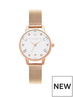 olivia-burton-olivia-burton-bejewelled-white-crystal-set-dial-rose-gold-stainless-steel-mesh-strap-ladies-watch
