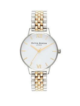 olivia-burton-olivia-burton-white-and-gold-detail-dial-two-tone-stainless-steel-bracelet-ladies-watch