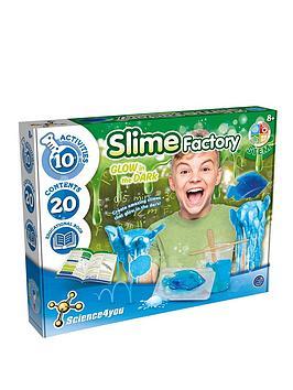 Science4You Glow In The Dark Slime Slime Factory Glow In The Dark