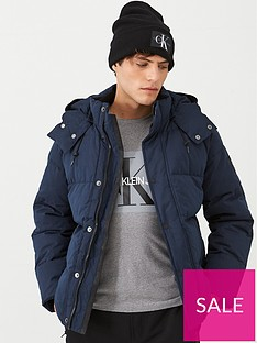 calvin-klein-mid-length-mock-down-jacket-navy-blue