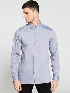 tommy-hilfiger-four-way-stretch-long-sleeved-shirt-navy-blazer