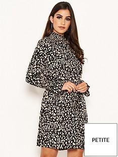 ax-paris-petite-ax-paris-petite-animal-print-high-neck-dress