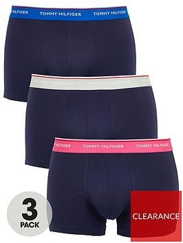 tommy-hilfiger-three-pack-of-trunks-navy