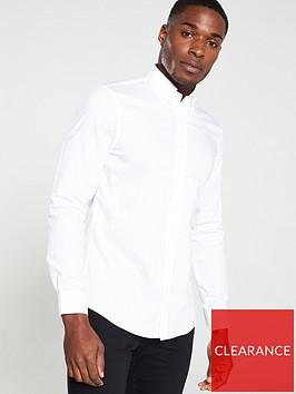 calvin-klein-easy-iron-fitted-oxford-shirt-white