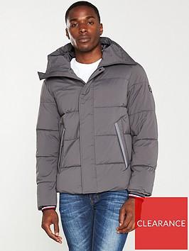 tommy-hilfiger-stretch-nylon-hooded-bomber-jacket-magnet-grey