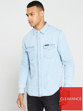 calvin-klein-jeans-modern-western-long-sleeve-shirt-iconic-everestnbsp