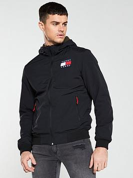 tommy-jeans-padded-nylon-jacket-black