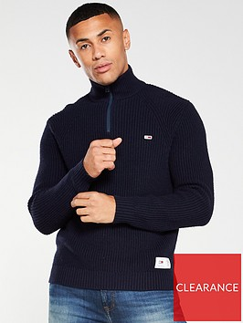 tommy-jeans-zip-neck-jumper-navy