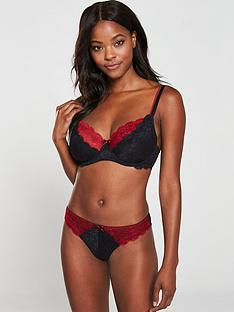 pour-moi-allure-underwired-bra-black-red