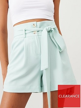 v-by-very-crepe-short-mint