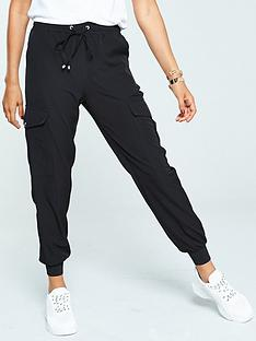 v-by-very-side-pocket-utility-trouser-black