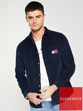 tommy-jeans-cord-long-sleeve-shirt-navy