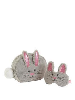 bunny-cosmetic-bag-and-eyemask-set
