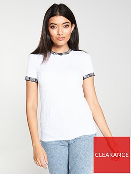 river-island-ribbed-tipped-t-shirt-white