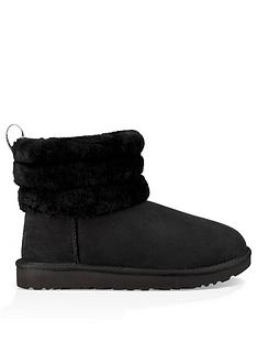 ugg-fluff-mini-quilted-ankle-boots-black