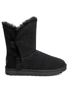 ugg-classic-short-fluff-high-low-calf-boots-black