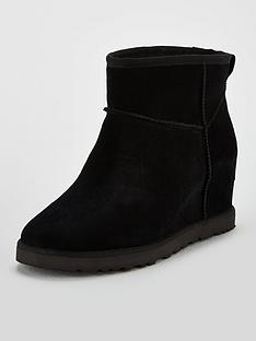 ugg-classic-femme-hidden-wedge-mini-ankle-boots-black