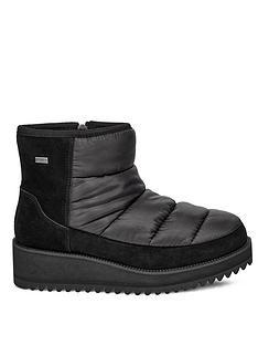 ugg-ridge-mini-ankle-boots-black