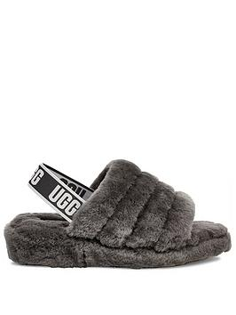 ugg-fluff-yeah-slide-slippers-charcoal
