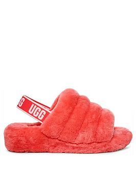 ugg-fluff-yeah-slide-slippers-neon-pink