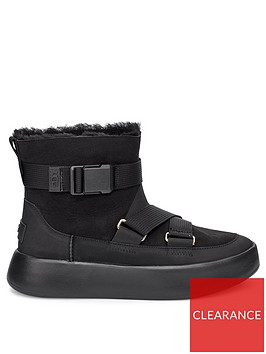 ugg-classic-boom-buckle-ankle-boots-black