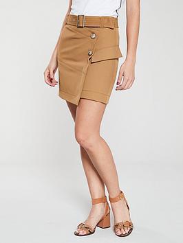 river-island-utility-mini-skirt--beige