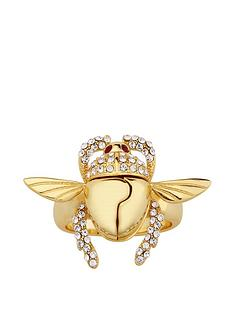 disney-disney-aladdin-14k-gold-plated-opening-crystal-scarab-beetle-ring