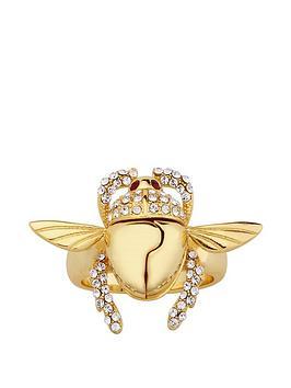 disney-disney-aladdin-14k-gold-plated-opening-crystal-scarab-beetle-ring