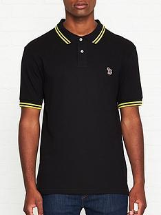 ps-paul-smith-zebra-logo-tipped-pique-polo-shirt-black