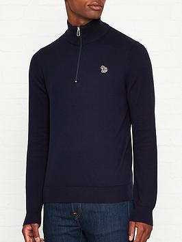 ps-paul-smith-zebra-logo-34-zip-knitted-jumper-navynbsp