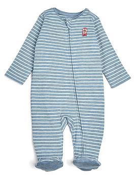 mamas-papas-baby-boys-bus-stripe-sleepsuit-blue