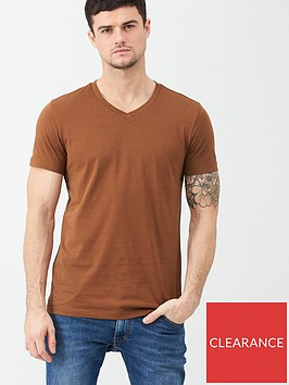 v-by-very-essential-v-neck-t-shirt-burnt-orange