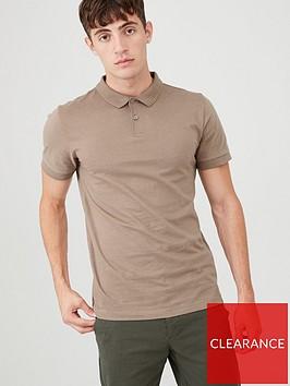 v-by-very-short-sleeved-jersey-polo-shirt-pine-bark