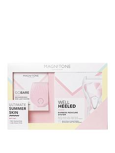 magnitone-limited-edition-ultimate-summer-skin-gift-pack-including-well-heeled-express-pedicure-system-and-gobare-mini-lady-shaver