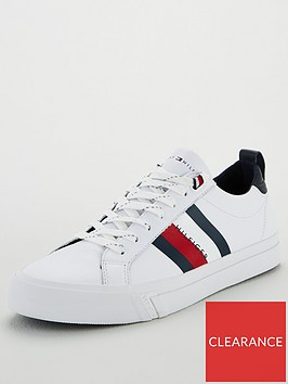 tommy-hilfiger-flag-detail-leather-trainers-white
