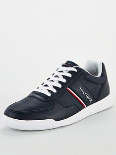 tommy-hilfiger-lightweight-leather-trainers-navy