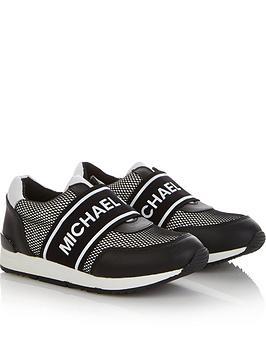 michael-kors-girls-logo-strap-trainers-black