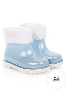 mini-melissa-mini-girls-glitter-winter-boots