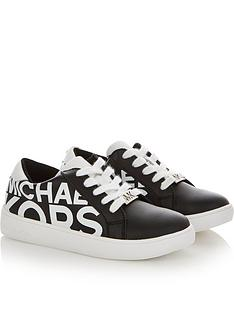 michael-kors-girls-girls-all-over-logo-lace-up-trainers-black