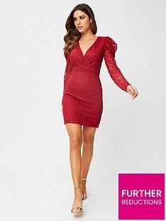 little-mistress-petite-little-mistress-petite-red-lace-mini-dress