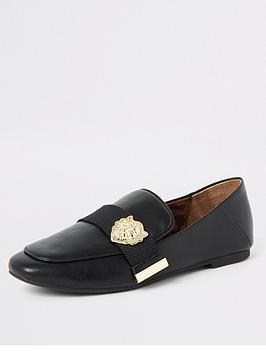 river-island-river-island-embellished-detail-loafer-black