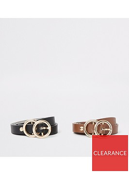 river-island-river-island-double-ring-multi-pack-belts